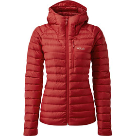 Rab Microlight Alpine Jakke Damer, ascent red